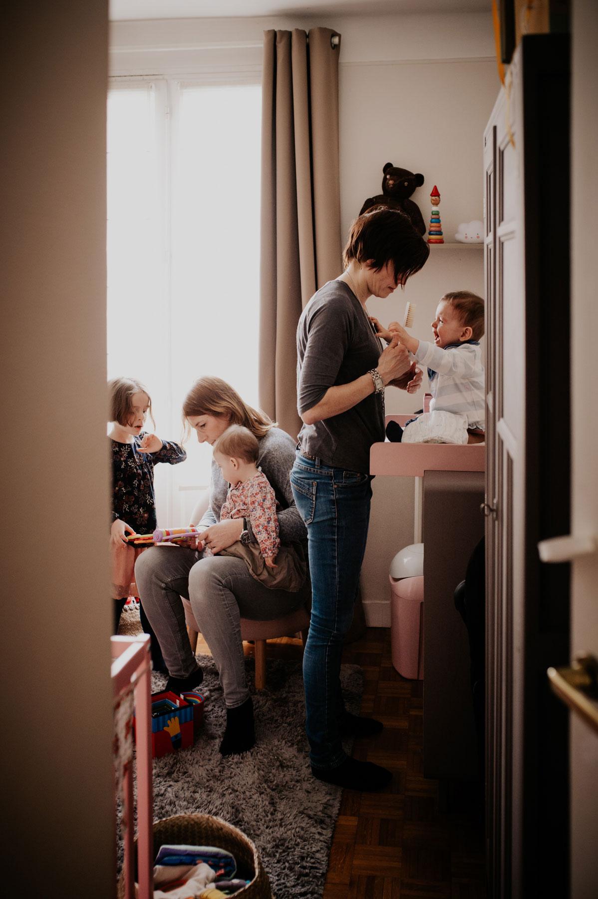 le quotidien d une famille nombreuse